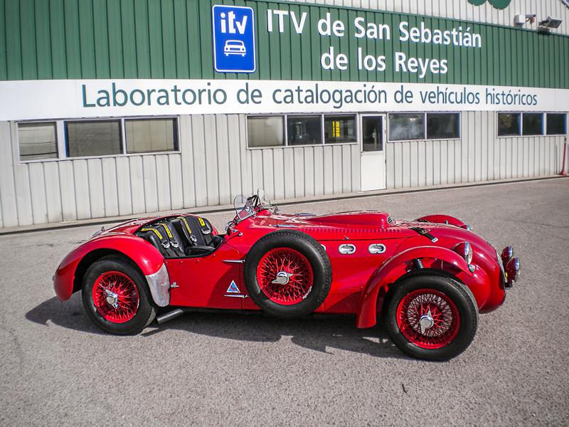 Allard J2X en ITV Go San Sebastián de los Reyes. Ultradeportivo de los 50's